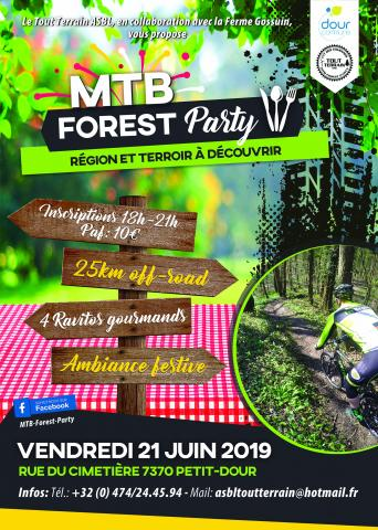 Mtb forest party